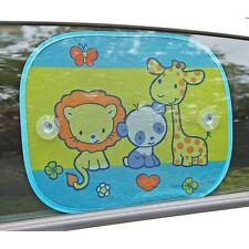 Clippasafe Safari Fun Sun Shade Multi Coloured (2-pack)
