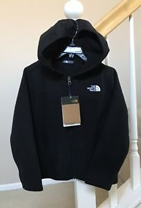 The North Face Kids Youth Girls Boys Freestyle Fleece Zip Hoodie Black Size XS 6