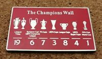 *NEW* Liverpool FC - Champions Wall Pin/Badge [RED][50mm]