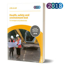 CSCS Card Test Book Health and Safety for Managers and Professionals: 2018