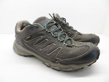 The North Face Women's Ultra 109 GTX Hike Trail Shoe Grey/Balsam Blue 9.5M