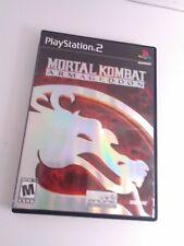 Mortal Kombat: Armageddon (Sony PlayStation 2, 2006) Complete Tested Fast Ship!