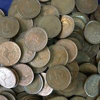 Australian KGVI/QE11 Bulk Halfpenny pre decimal coins x 27 1939-1964 14 dates