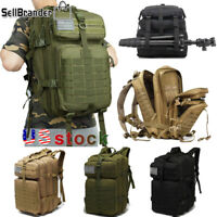 Large Capacity Army Waterproof Outdoor Hiking Camping Hunting Rucksack Backpack