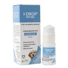 I-Drop Vet Plus Ophthalmic Solution - (0.25% Sodium Hyaluronate + Glycerin) 10ml