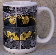 Coffee Mug Entertainment Batman & Robin Montage NEW 15 ounce cup with gift box