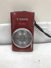 Canon 135 16.0MP Digital Camera - RED
