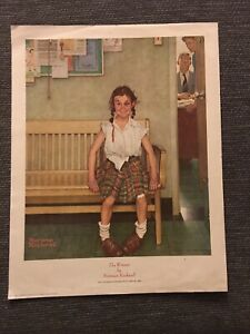 "Norman Rockwell "" The Winner"" Print The Saturday Evening Post May 23 1953 14x11"