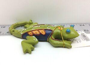 Decorative Fiberglass Sculpture Figure Gecko Lizard Mexican