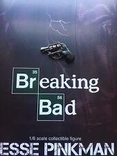 Threezero Breaking Bad BrBa Jesse Pinkman Snub Nose Pistol loose 1/6th scale