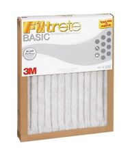 "(3)-Pack Filtrete 3M Air Furnace Filters White Pleated 20x30x1"" (Lasts 9 Months)"