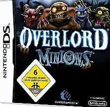 Nintendo DS 3ds Overlord minions * Deutsch * nuevo
