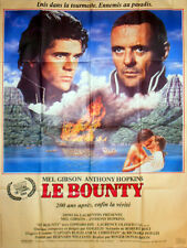 Affiche 120x160cm LE BOUNTY 1984 Mel Gibson, Anthony Hopkins, Olivier BE