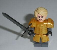 T.V. Lego Game of Thrones - Brienne of Tarth Gold Custom (Genuine Lego Parts)