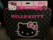 "New Hello Kitty 14"" Zippered Laptop Sleeve"