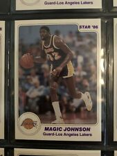 Magic Johnson + Lakers Team Star 85-86 Set (N/M - M)