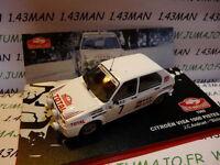 RMC9M 1/43 IXO altaya Rallye Monte Carlo CITROËN : visa 100 pistes 1985 blche