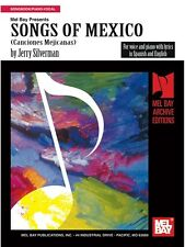 Jerry Silverman Songs Of Mexico Learn to Play Present MUSIC BOOK Piano Voice