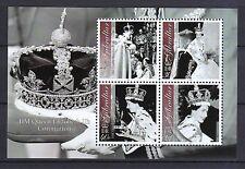 Gibraltar 2003 postfrisch MNr. Block 53  Thronbesteigung Königin Elisabeth II.