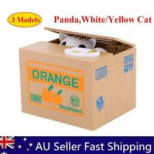 Automatic Stealing Coin Panda Cat Coins Money Box Bank Steal Money Coin Bank AU