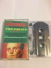 The Police Live Unlicensed Cassette