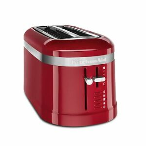 New KitchenAid 4 Slice Long Slot Design Toaster with High Lift Lever KMT5115