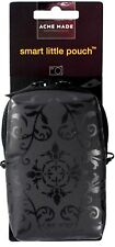 ACME MADE Compact Camera POUCH Dual Zip Fastening PADDED Neoprene Case Bag BLACK