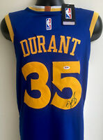 Kevin Durant GS Warriors Autographed Signed Nike Swingman Jersey PSA/DNA COA