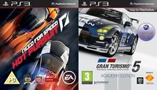 gran turismo 5 academy edition & need for speed hot pursuit    ps3 pal