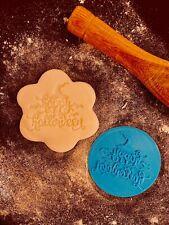 Happy Halloween Bat Hat Cookie Fondant Embosser Stamp 3D Printed 6cm