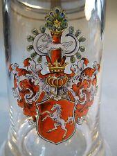 Cono Club BIRRA BOCCALE COPERCHIO berrete cono Verein vetro Stagno Coperchio STEMMA Hannover 1902