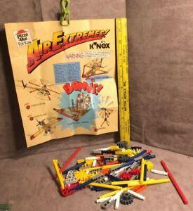 Pizza Hut 1994 Vintage KNEX Air Extremes Building Set Lot Replacement Part K'nex