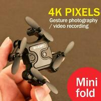 Mini Drone Hd Camera Hight Hold Mode Rc Quadcopter Wifi foldable V8Z7