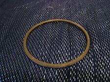 GOLD Tone in Metallo Sottile Bracciale Bangle con decorazione in sezione Bianco 2 1/2 INS Wide
