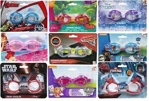 Kids Childrens Boys Girls Swimming Goggles Princess Paw Patrol Avengers Frozen