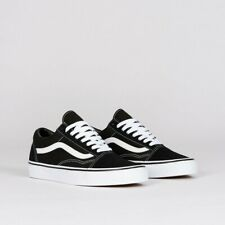 Kids Vans Old Skool Skate Shoe Unisex, Size 9.0 Black/White