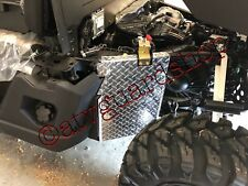 2018 2019 POLARIS RANGER 1000 BLACK DIAMOND PLATE REAR MUD GUARDS
