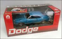 ERTL 1/18 1969 DODGE DAYTONA BLUE WITH WHITE WING 1 OF 500