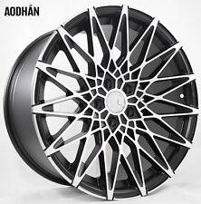 19X9.5 +30 AodHan LS001 5X112 Black Wheel Fit VW JETTA GOLF GTI CC PASSAT TDI