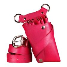 Truewin Hairdressing Scissors 5 pkt Leather Holder Holster Pouch TW 42 H.Pink