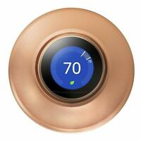 POPMAS Copper Wall Plate for Nest Learning Thermostat 3rd 2nd 1st Generation