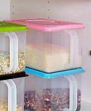 Bulk Storage Handled Bins Pink Perfect for rice, flour and other pantry staples