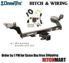 """FITS 2013-2016 FORD ESCAPE CLASS 3  TRAILER HITCH & WIRING 2"""" TOW RECEIVER 75782"""