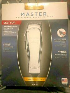 Andis Master Adjustable Blade Hair Clipper - 01557