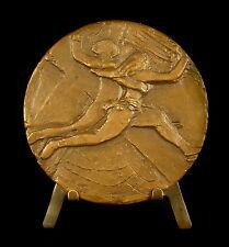 Medaille La danse la joie sc Montand Dancing Dancer couple 68 mm 166 g Medal