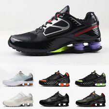 2020 new Shox sneakers reflective Enigma men's plus size running shoes 40-46