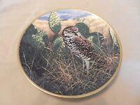Prairie Sundown Collector's Plate Noble Owls of America Spode Seerey-Lester (H1
