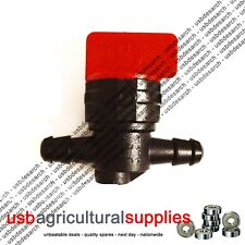 "BRIGGS & STRATTON TYPE RIDE-ON MOWER FUEL TAP 1/4"" 698183 PETROL - NEXT DAY"