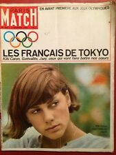 Paris Match 3/10/64 Jeux Olympiques Tokyo Caron Jazy Gottvalles Jane Fonda