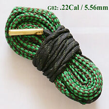 5.56mm Green Calibre Bore Snake Calibre Rifle Barrel Cleaner Kit Rope Boresnake